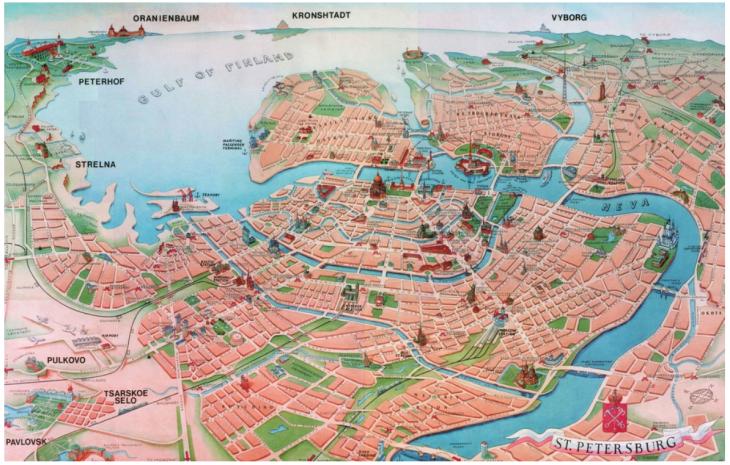 Petrograd-map