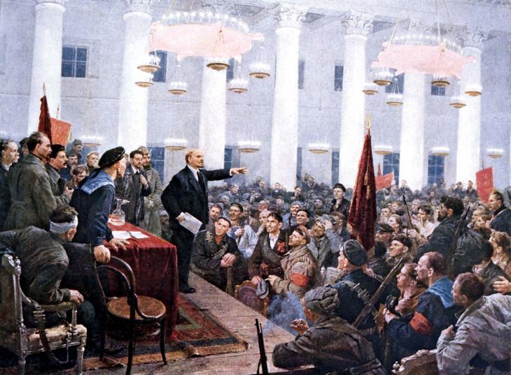 Second-All-Russian-Congress-of-Soviets-Vladimir-Lenin-britannica